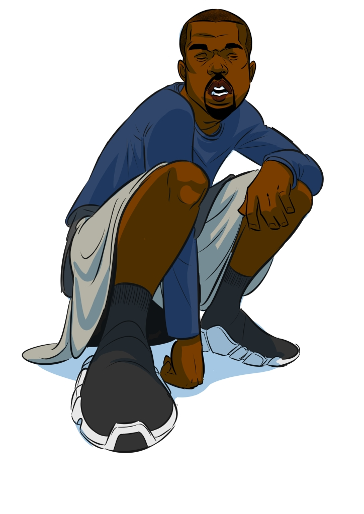 Kanye shoes Balenciaga