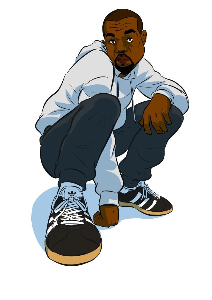 kanye adidas shoes gazelle