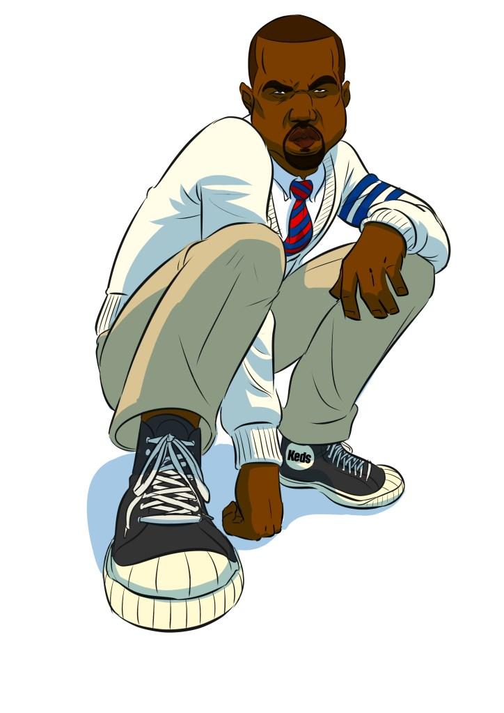 Kanye shoes Keds Hightops