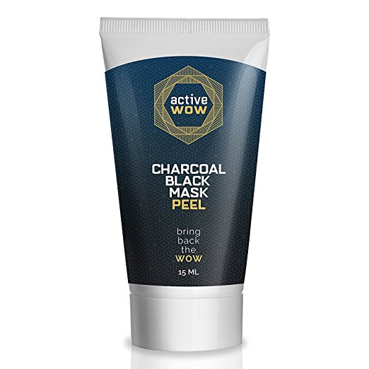 face mask best-selling options amazon under $25 charcoal black mask peel active wow