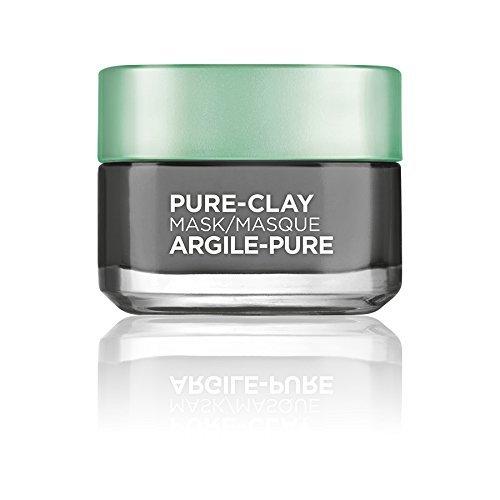 face mask best-selling options amazon under $25 l'oreal paris pure-clay detox brighten