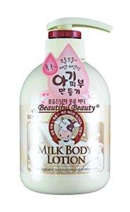 Milk Body Lotion by The Flower Men