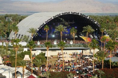 Music-Festival Site, Indio, USA