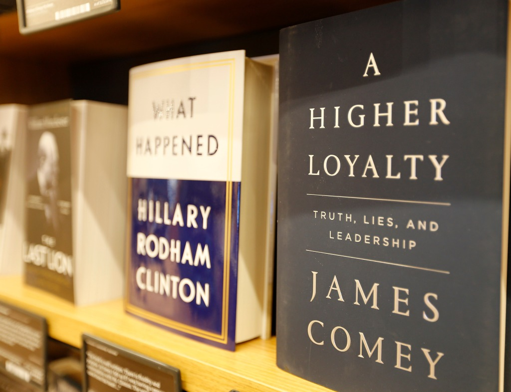 james comey book a higher loyalty