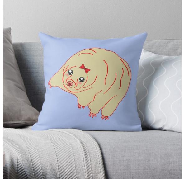 Water Bear Pillow