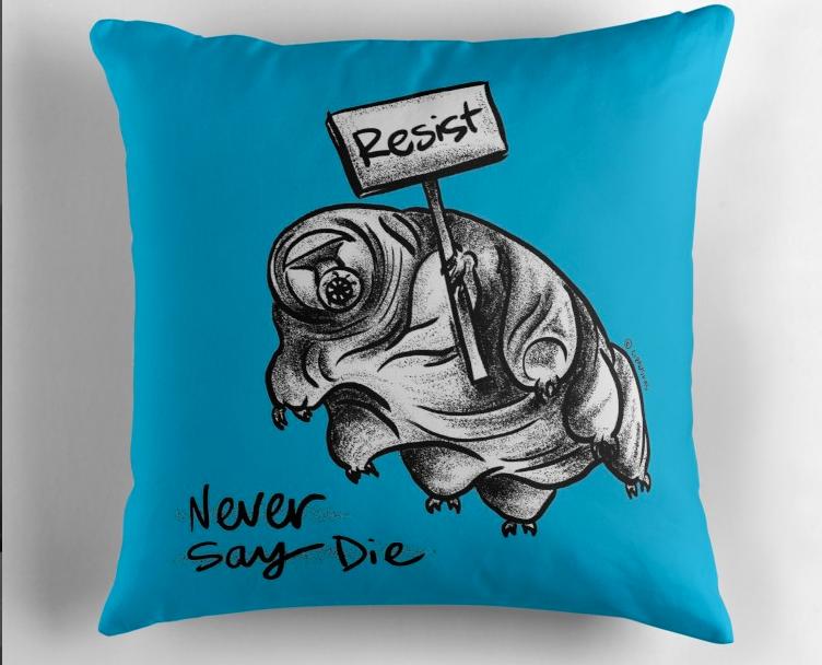 Tardigrade Resist Pillow