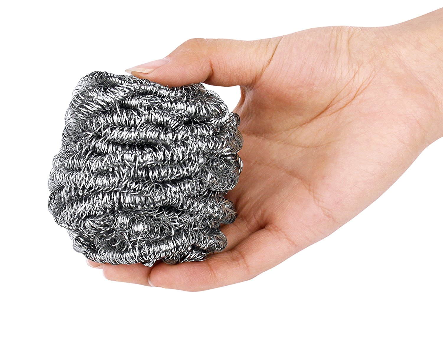 best scrubber household cleaning Amazon stainless steel wool large