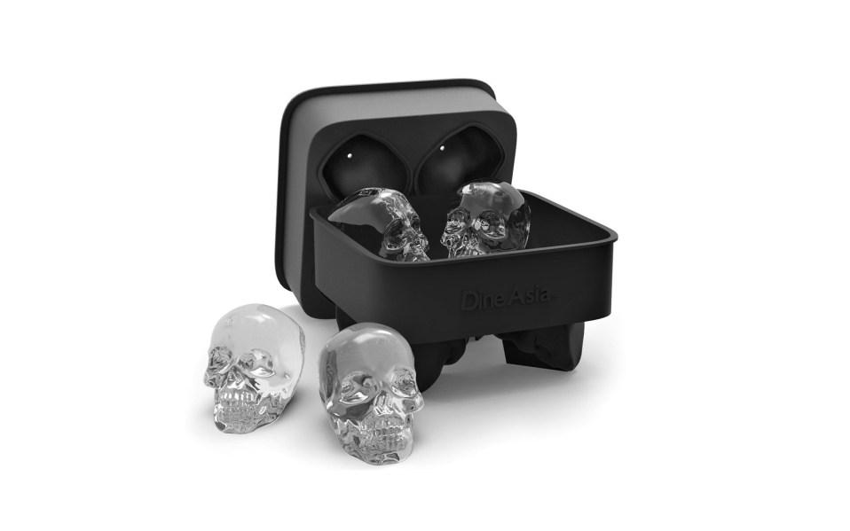 skull ice cube tray amazon