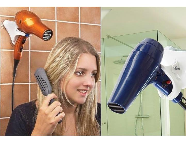 skymall hands free hair dryer
