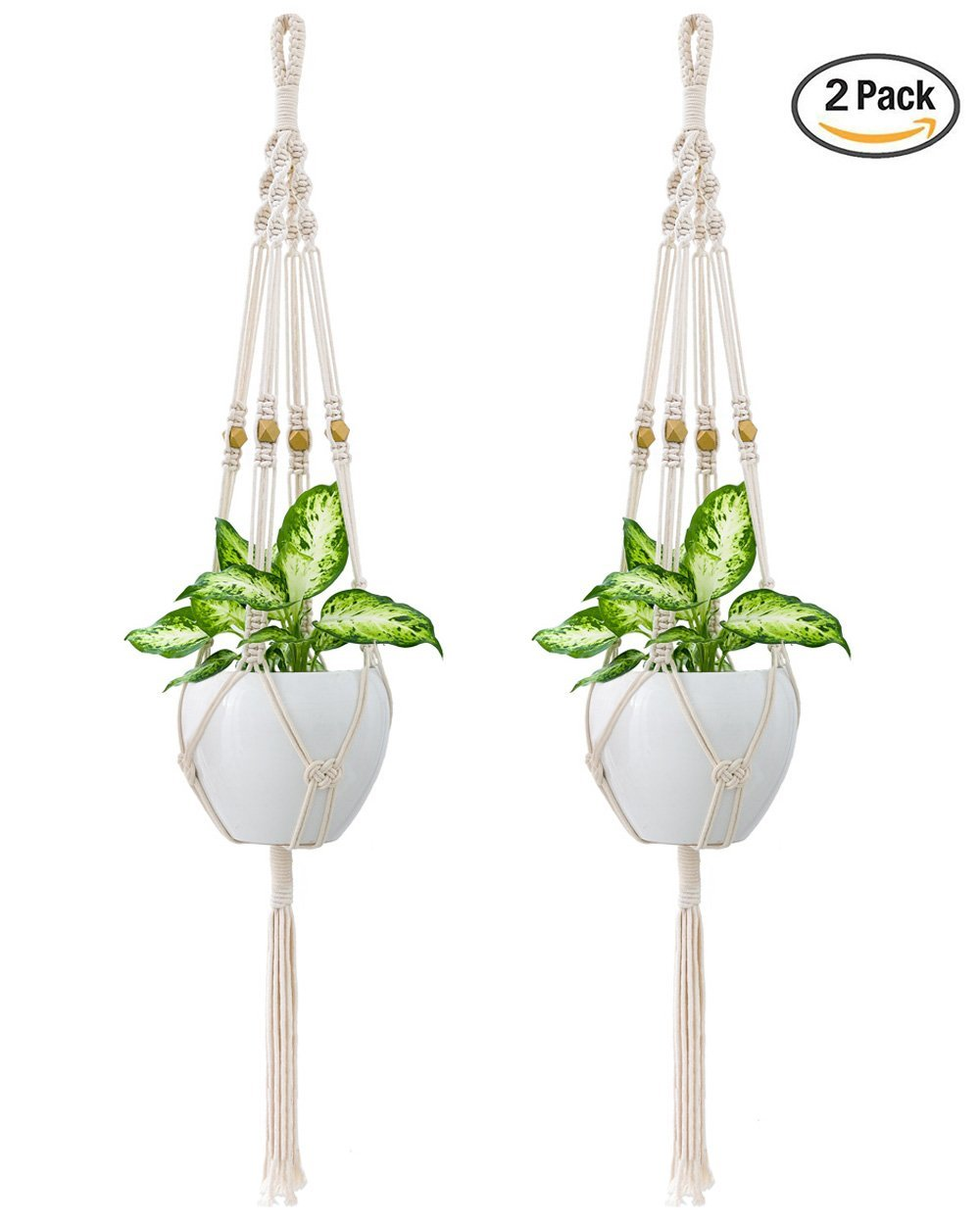 garden ideas small spaces growing macrame hanging pots