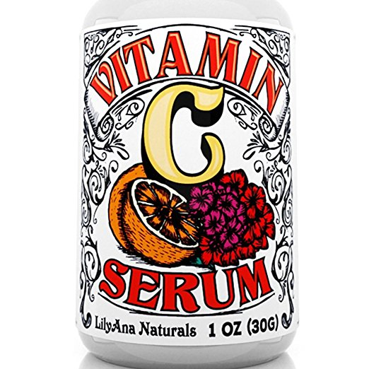 face serums best-selling vitamin C Amazon under $25 lilyana naturals