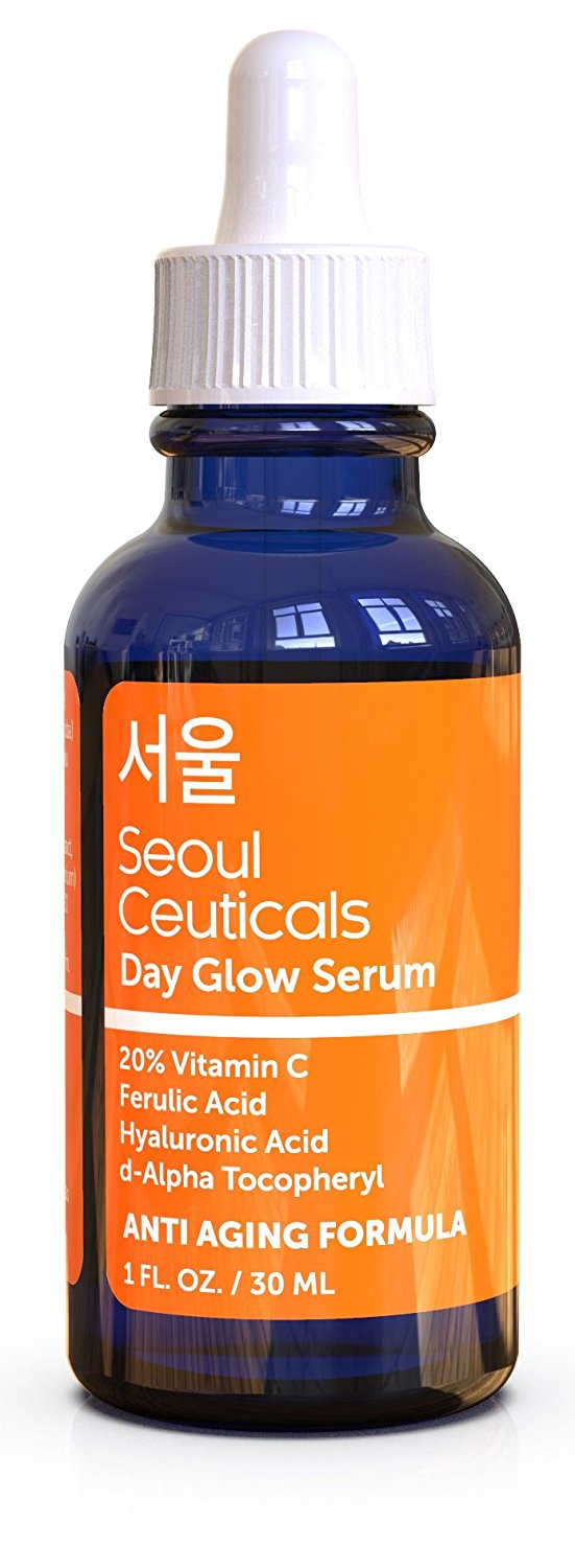 face serums best-selling vitamin C Amazon under $25 korean beauty seoul ceuticals day glow