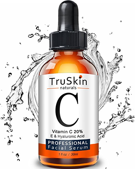 face serums best-selling vitamin C Amazon under $25 truskin hyaluronic acid professional facial