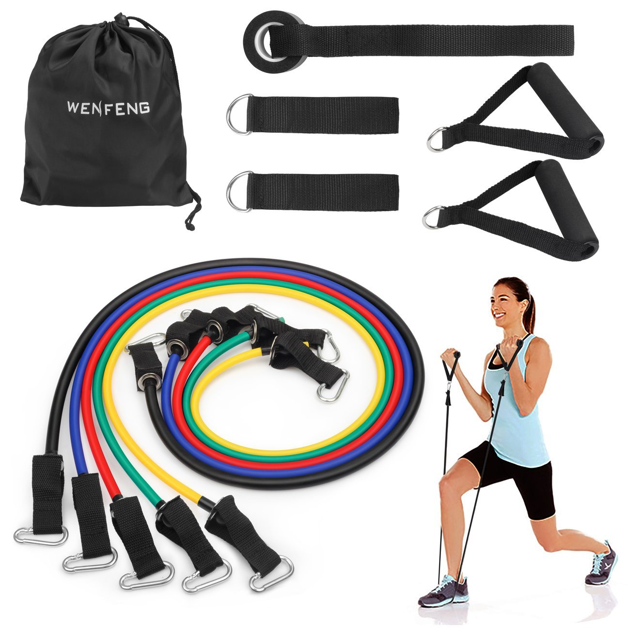 Wenfeng resistance band handles