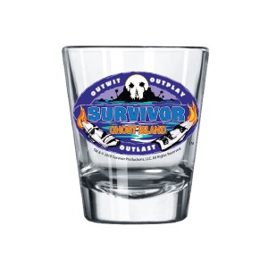 survivor shot glass