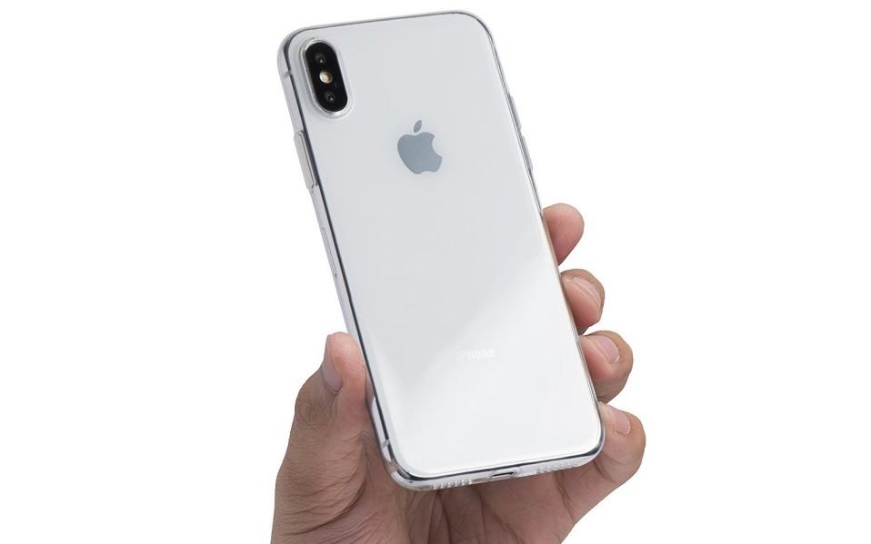 totallee clear iPhone x case
