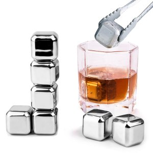 Whiskey Stones Metal Ice