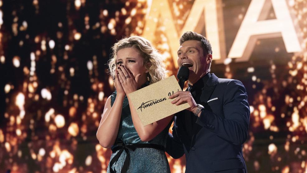 Maddie Poppe Ryan Seacrest american idol win
