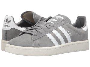 Grey Adidas Suede