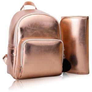 Rose Gold Diaper Bag Chris Faberline