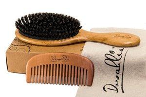 Boar Bristle Brush Dovahlia