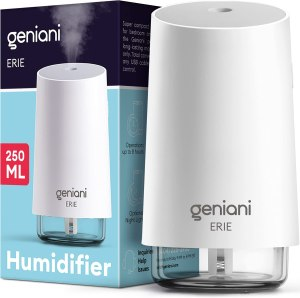 GENIANI Portable Small Cool Mist Humidifier, best portable humidifier