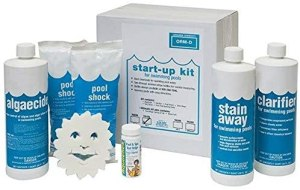 in the swim deluxe pool opening chemical start up kit