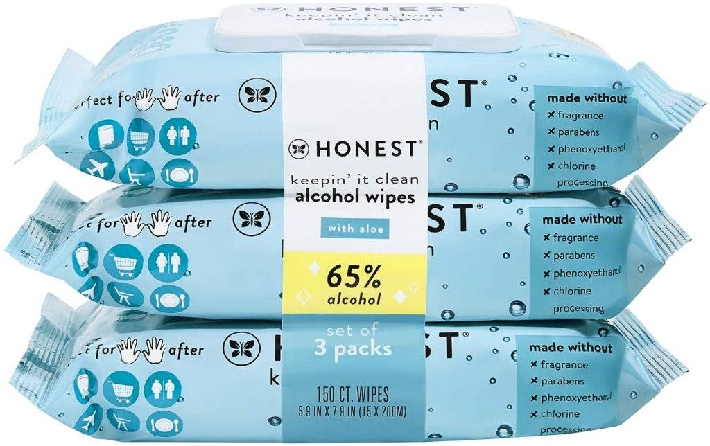 The Honest Company Sanitizing Alcohol Wipes