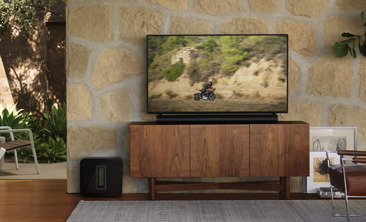 tv with sonos products