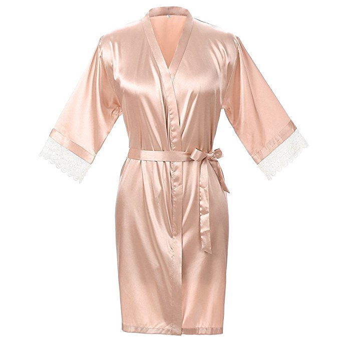 bridesmaid gifts under $50 silky robes