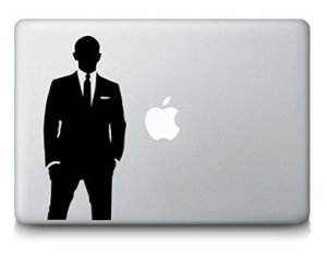 DecalXPress James Bond Laptop Decal