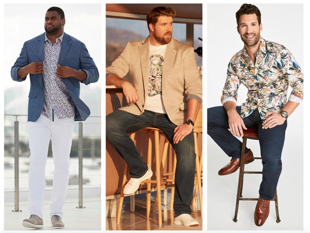 best plus size men's clothes destination XL