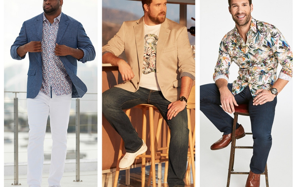 best plus size men's clothes destination