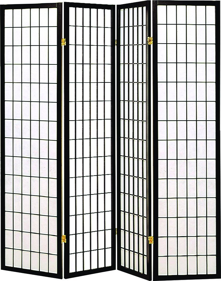 privacy screens room dividers best under 100 shoji folding four panel