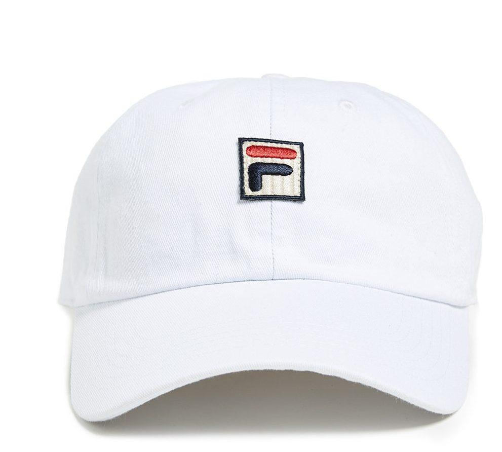 White Baseball Cap Fila