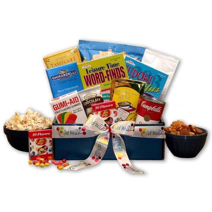 get well soon best gifts to give sick friends food basket