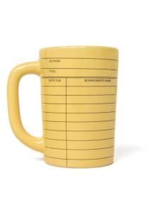 Out of Print Library Card Mug