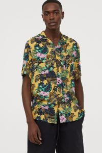 Floral hawaiian shirt H&M