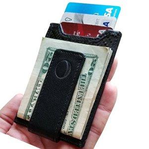 idclipz Slim Carbon Fiber Money Clip Wallet