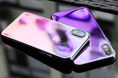 iPhone color changing phone case
