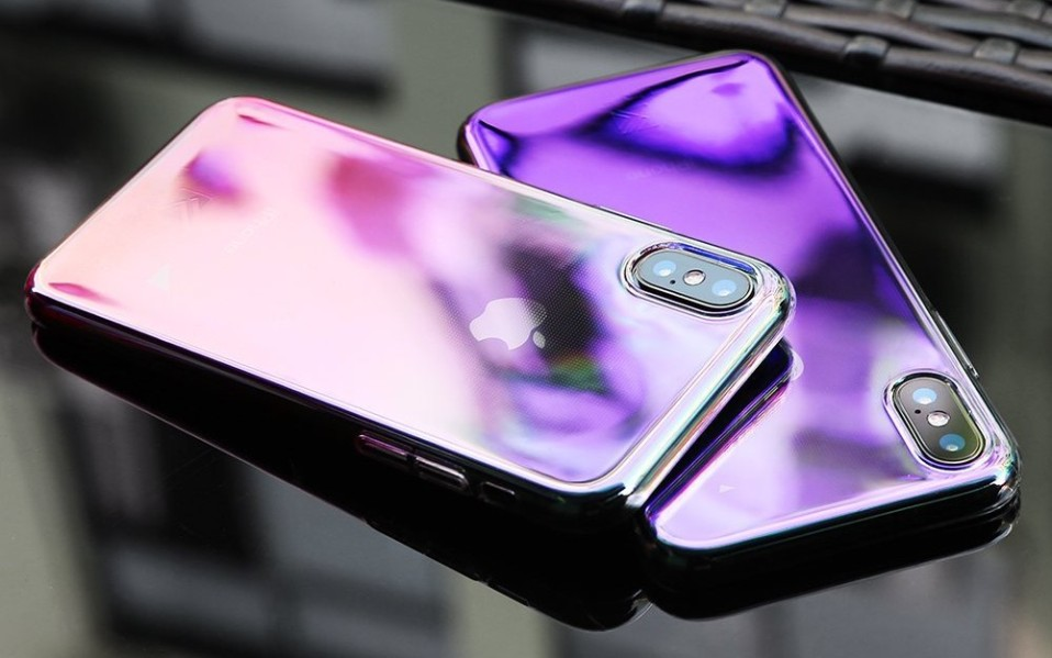iPhone x color changing case
