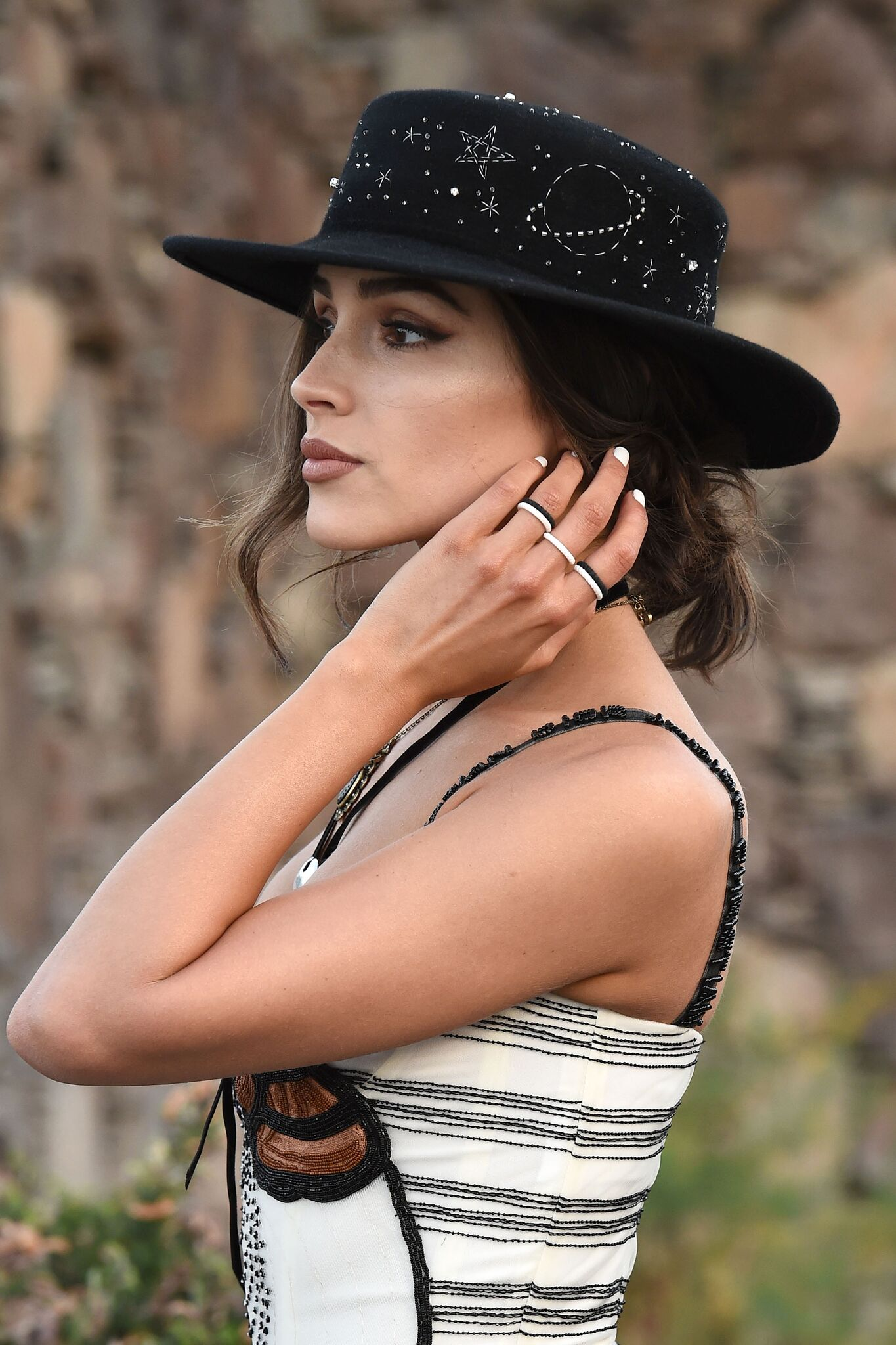 jewelry allergy alternatives nickel free enso stackable rings Olivia Culpo