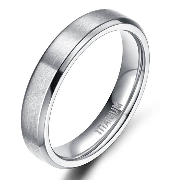 jewelry allergy alternatives nickel free titanium ring wedding band