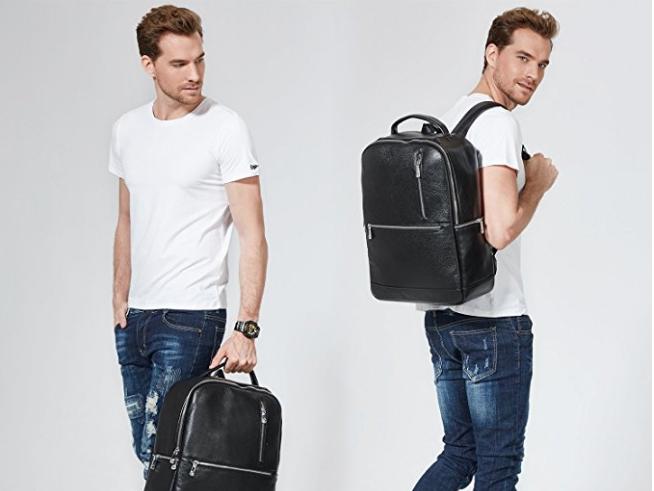 Best Leather Backpacks Under $100 for