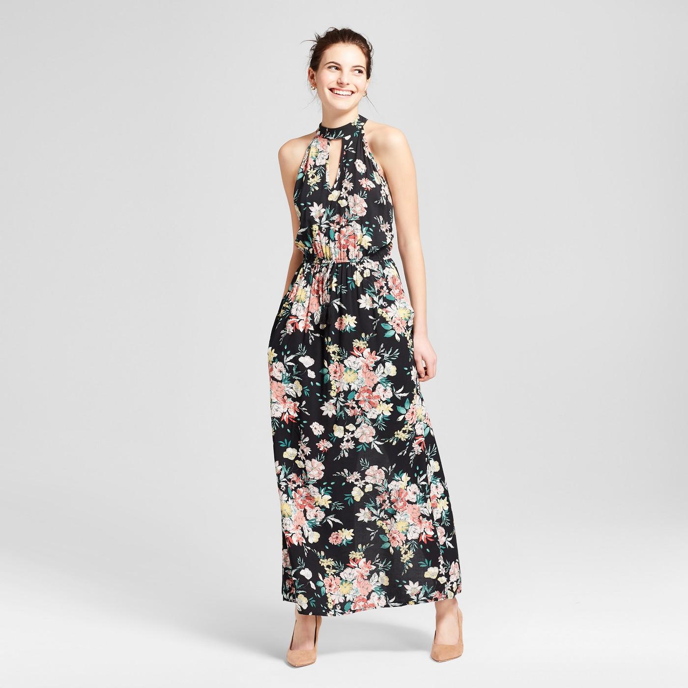 maxi dresses best under 35 summer target black floral