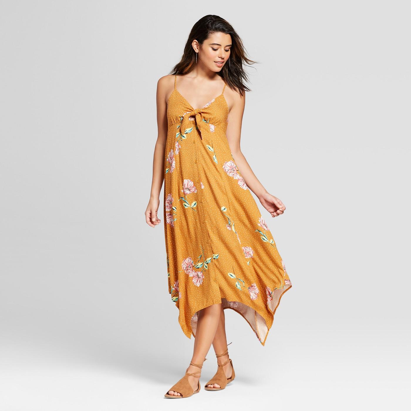 maxi dresses best under 35 summer target orange floral flowing