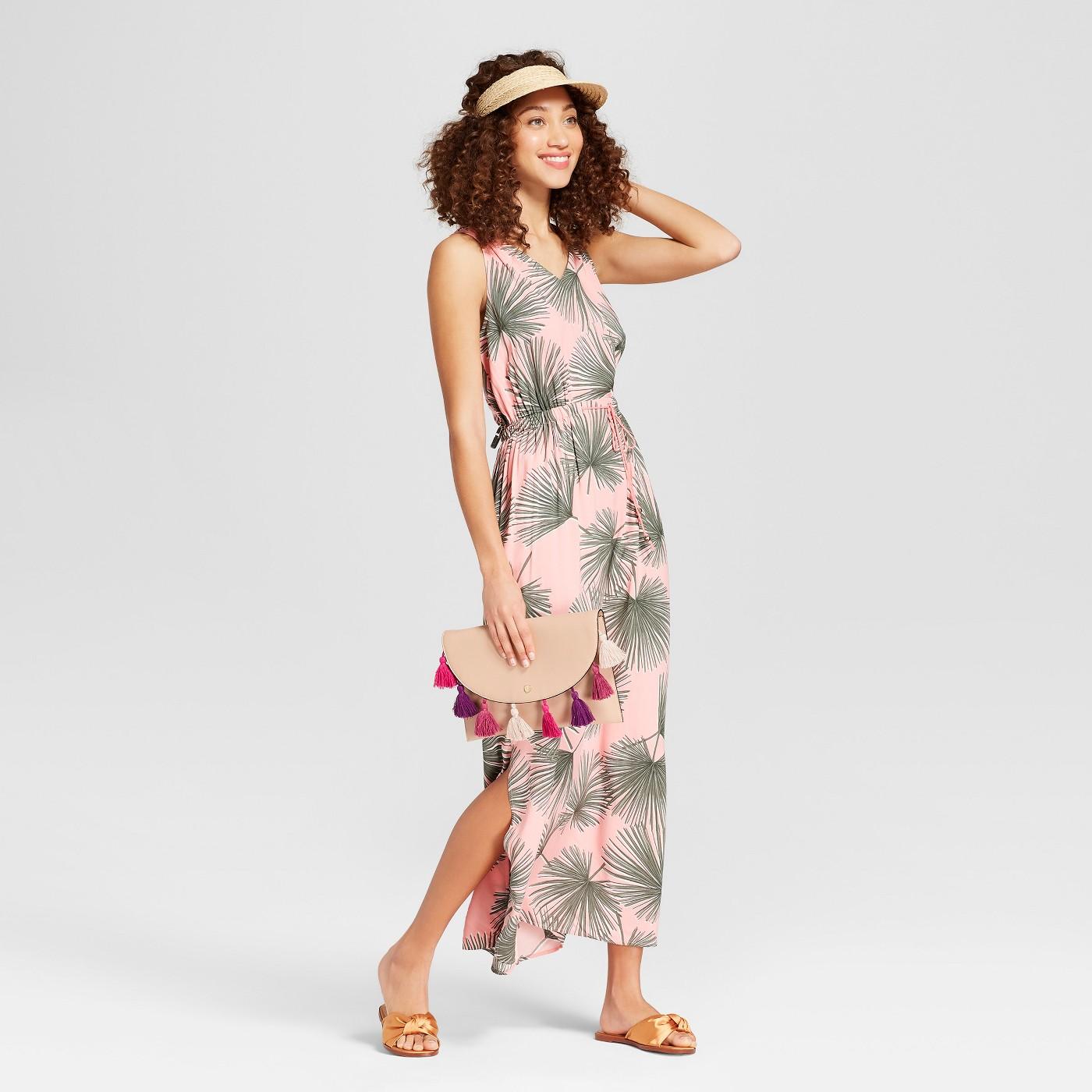 maxi dresses best under 35 summer target pink printed