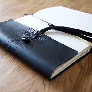 best gifts for artsy moms leather journal