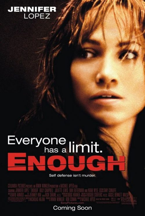 Enough Movie Poster