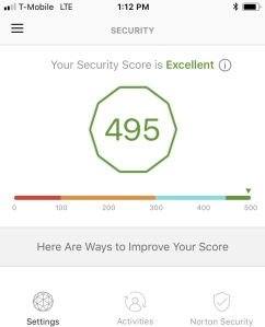 Norton Security Score